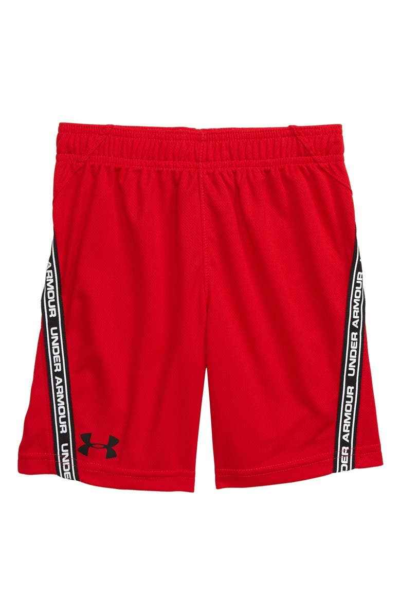 UNDER ARMOUR Lane HeatGear<sup>®</sup> Shorts, Main, color, RED