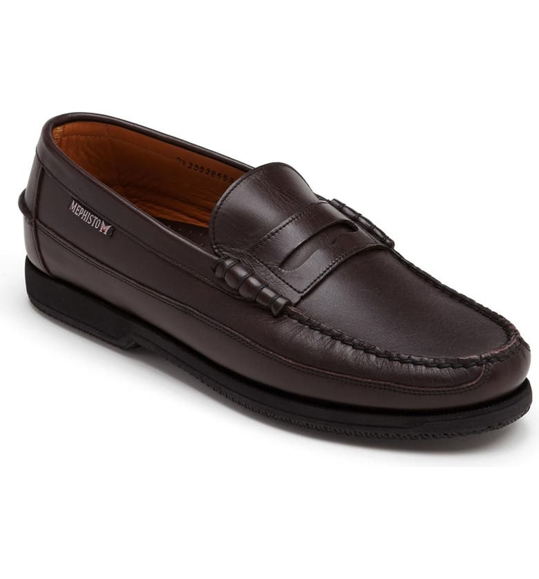 MEPHISTO 'Cap Vert' Penny Loafer, Main, color, Cordovan Leather