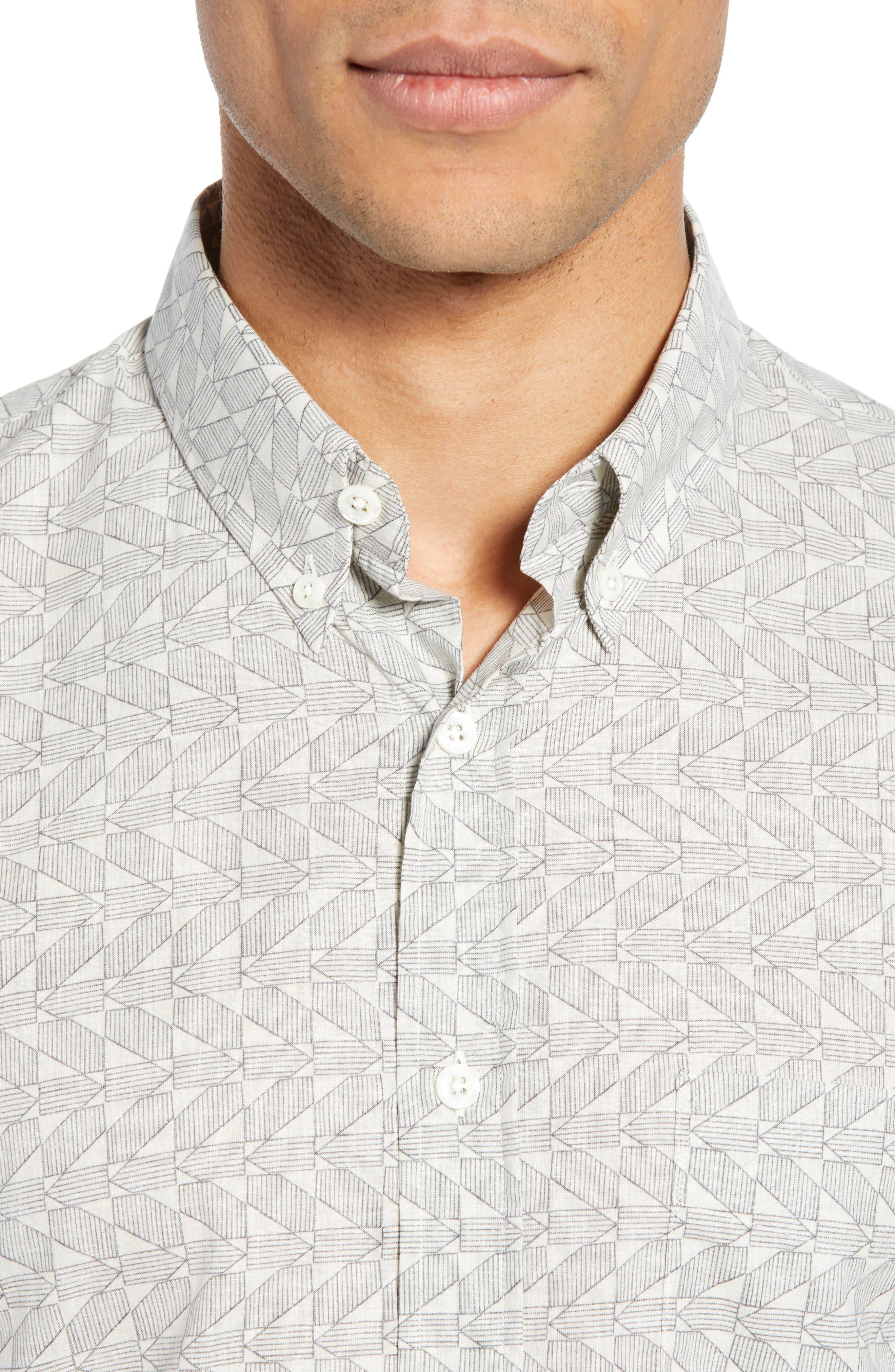 ,                             Tuscumbia Palisades Slim Fit Sport Shirt,                             Alternate thumbnail 2, color,                             NAVY/ WHITE