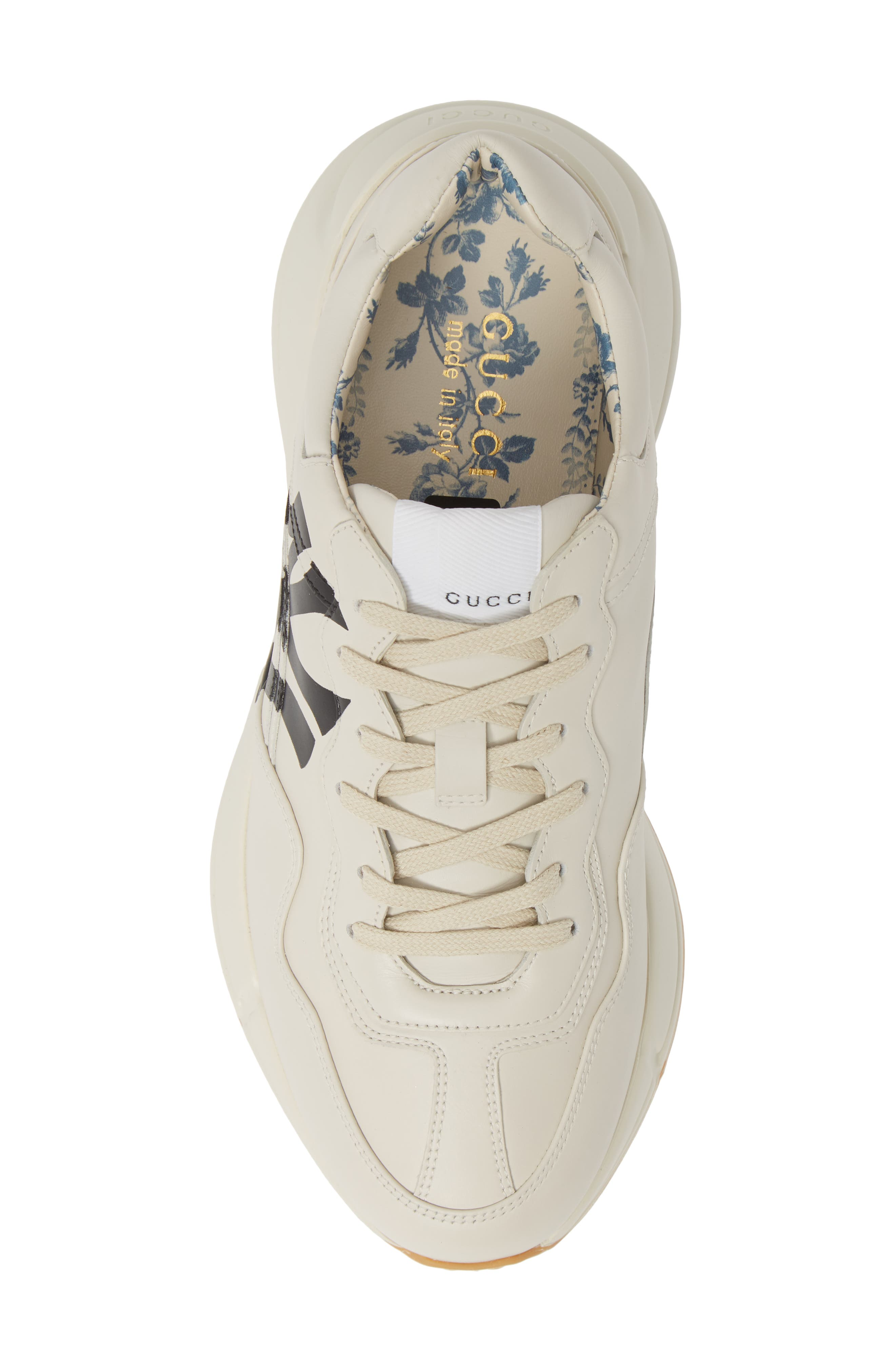 ,                             Rhyton Sneaker,                             Alternate thumbnail 5, color,                             MYSTIC WHITE/ WHITE