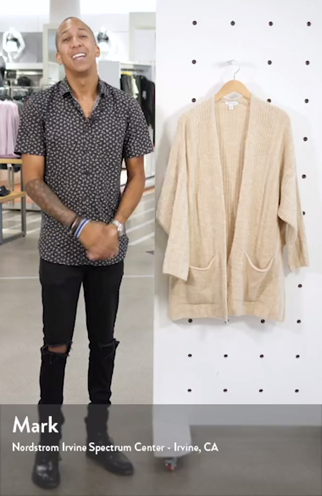 Long Cardigan, sales video thumbnail
