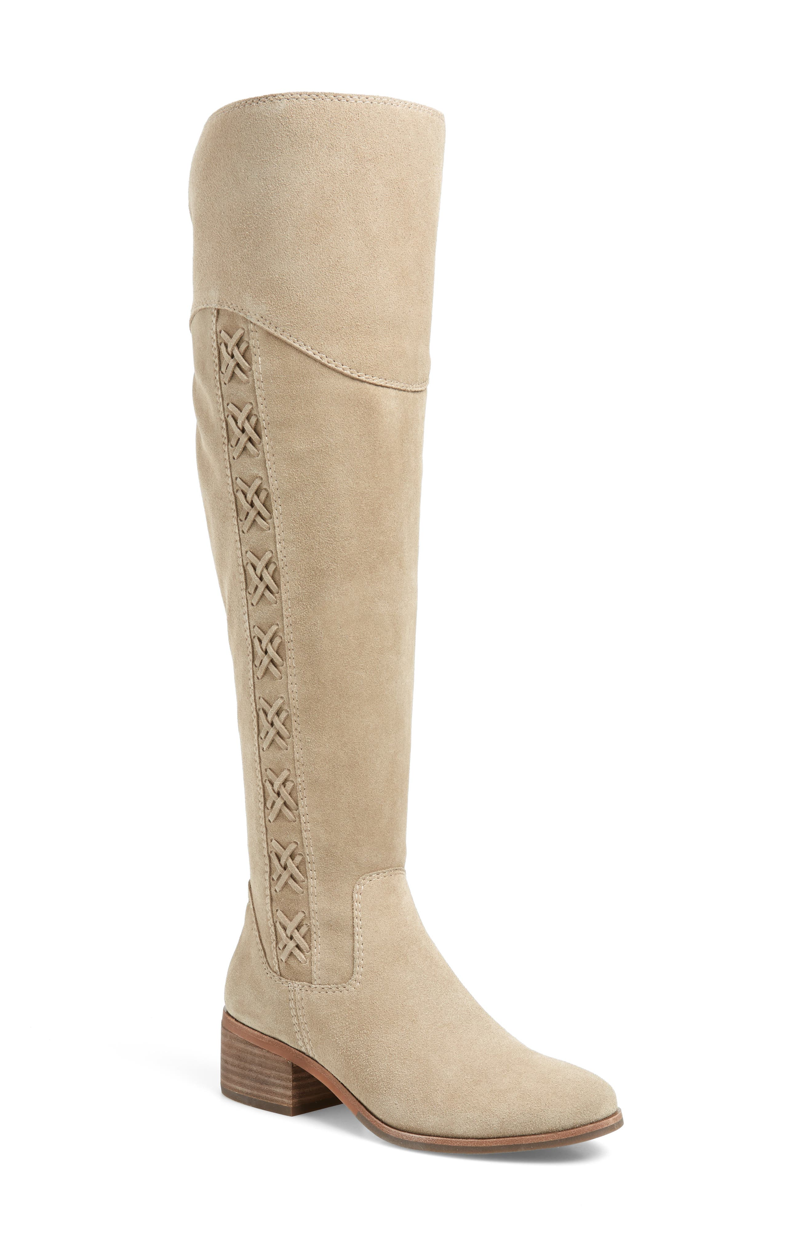 Vince Camuto Kreesell Knee High Boot (Women) (Regular & Extended Regular Calf)