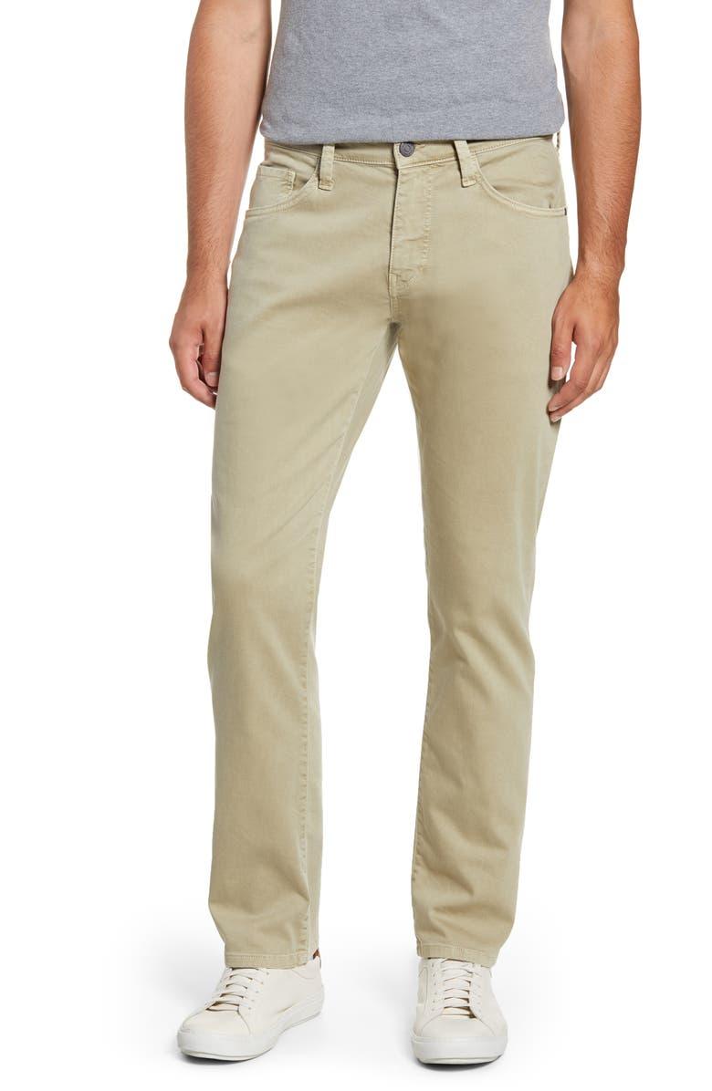MAVI JEANS Marcus Slim Straight Leg Jeans, Main, color, SILVER SAGE COMFORT