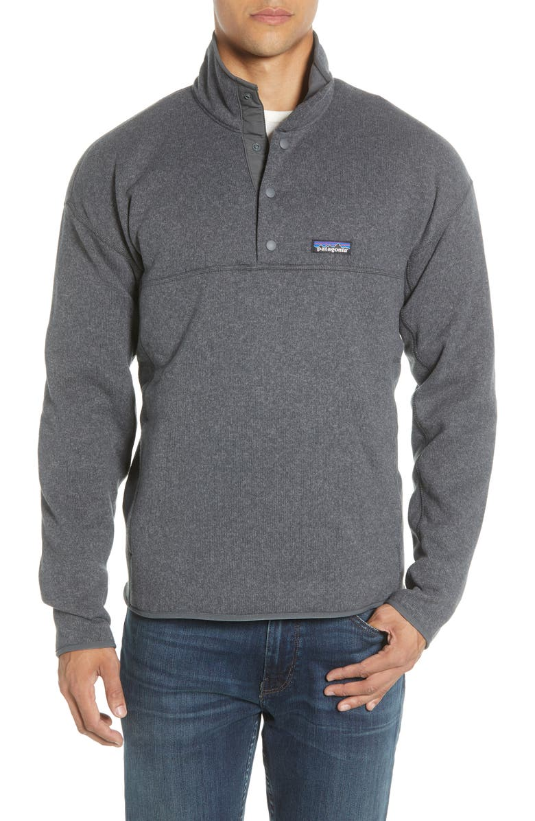 PATAGONIA Lightweight Better Sweater Pullover, Main, color, FORGE GREY