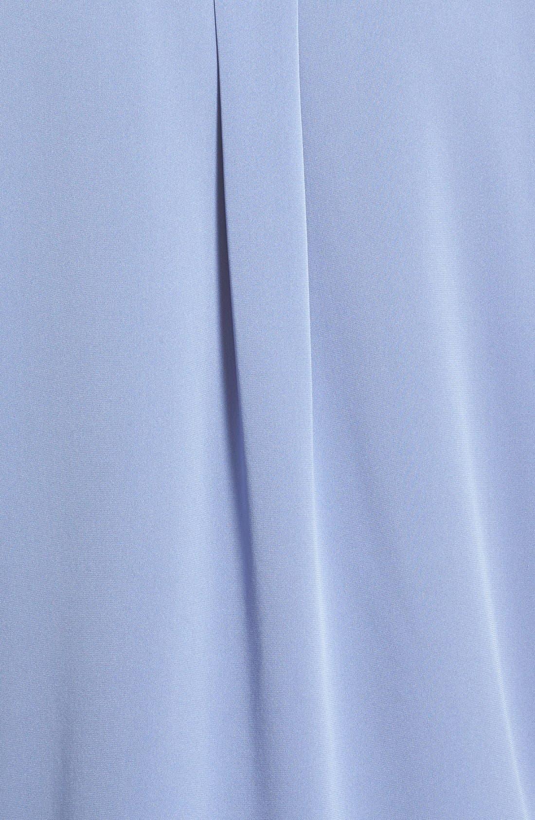 ,                             Slim Fit Stretch Silk Blouse,                             Alternate thumbnail 10, color,                             400