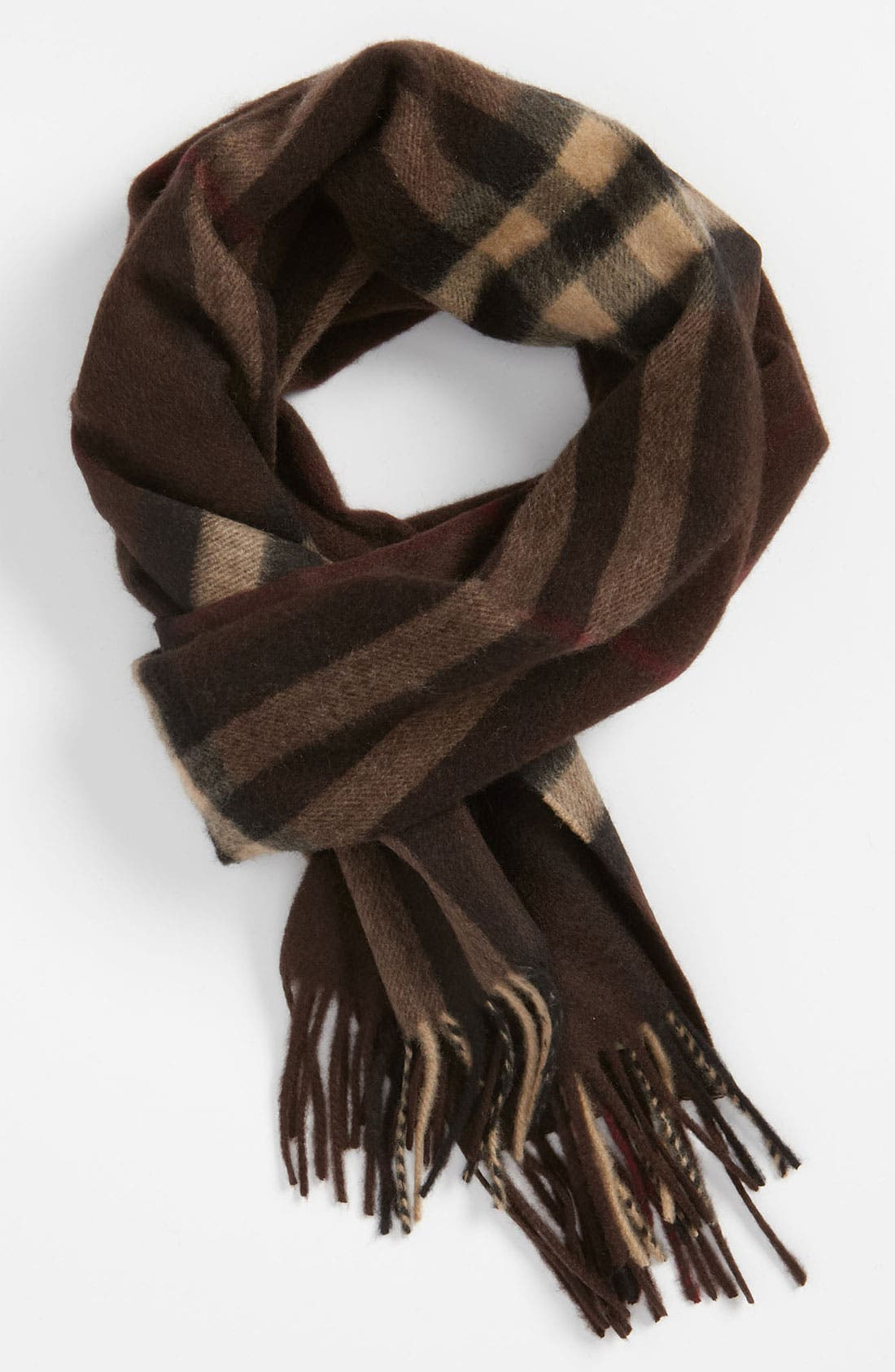 ,                             Heritage Check Cashmere Scarf,                             Main thumbnail 22, color,                             209