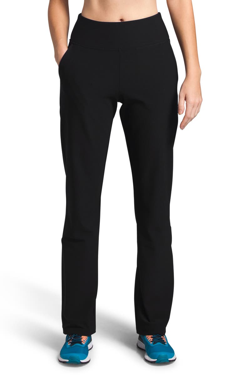 THE NORTH FACE Everyday High Waist Pants, Main, color, BLACK
