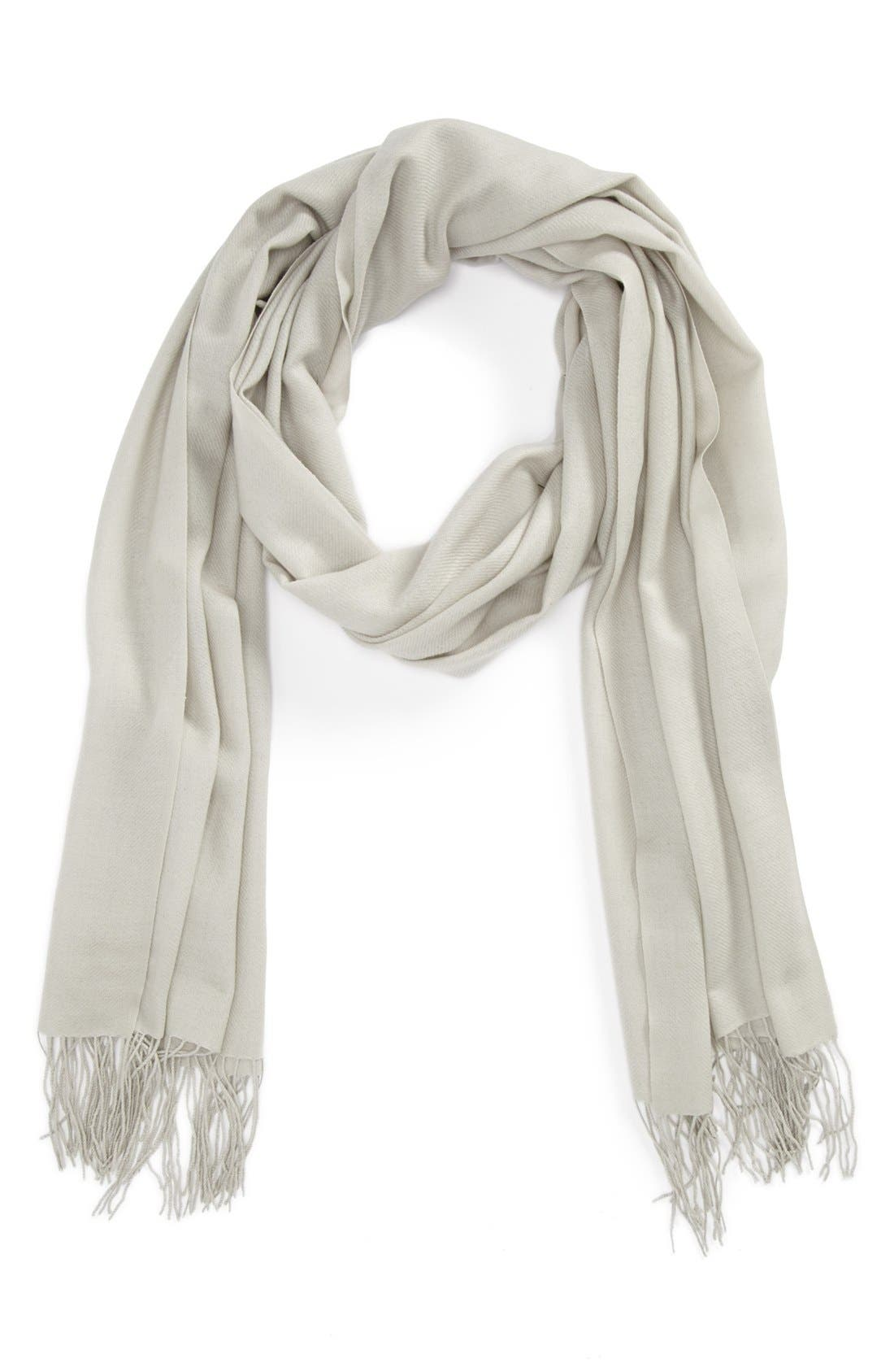 ,                             Tissue Weight Wool & Cashmere Wrap,                             Main thumbnail 16, color,                             068