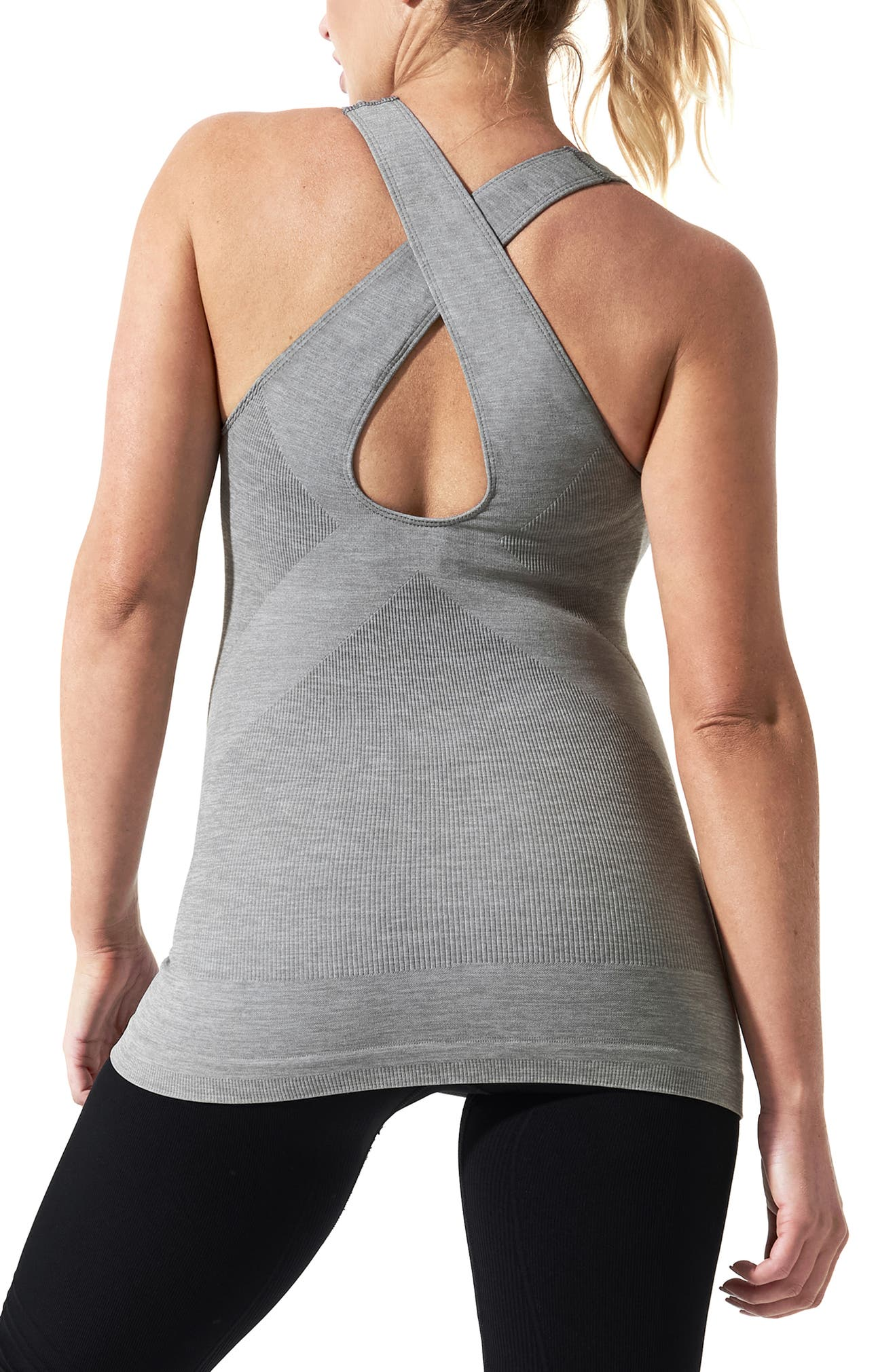3ac936d11743d BLANQI SportSupport Maternity Support Crossback Tank   Nordstrom