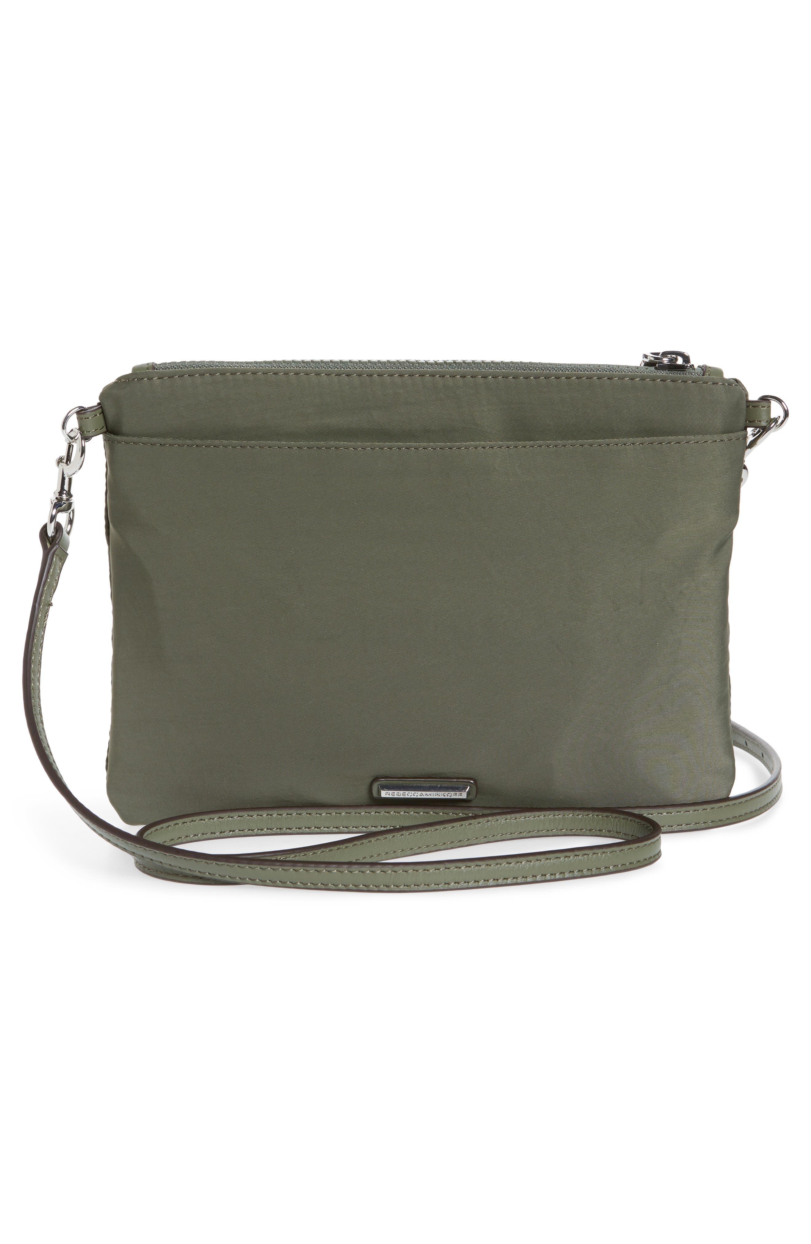 ,                             Jon Studded Nylon Crossbody Bag,                             Alternate thumbnail 16, color,                             305
