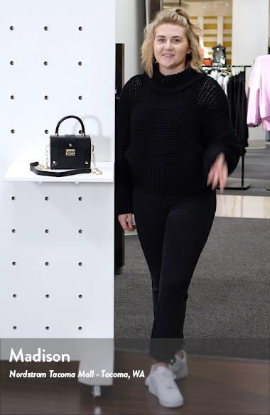 Strobe Faux Leather Handbag, sales video thumbnail