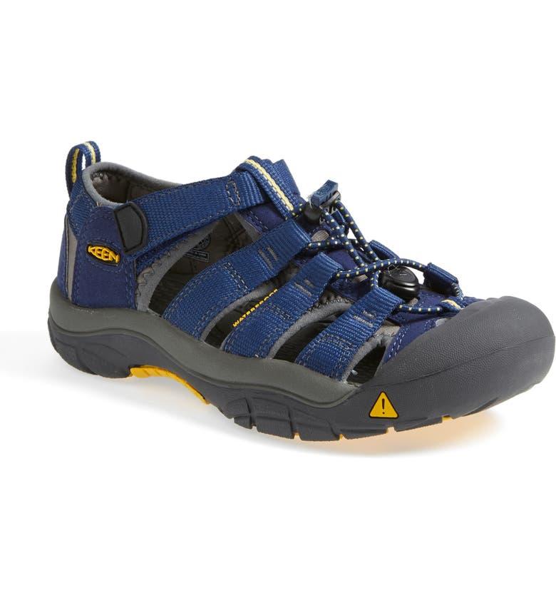 KEEN 'Newport H2' Water Friendly Sandal, Main, color, BLUE DEPTHS