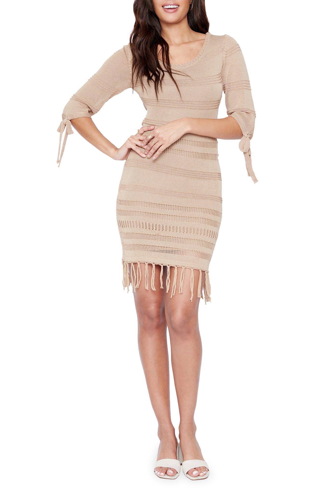 Women's Lost + Wander Coco Cabana Linen Minidress