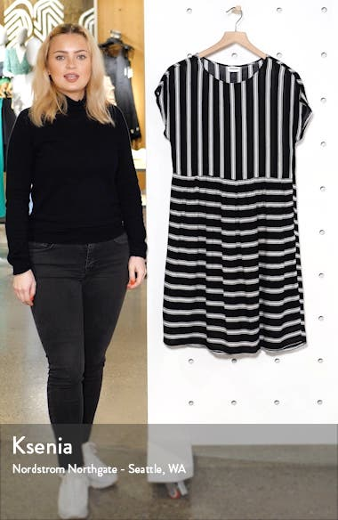 Melissa Stripe A-Line Dress, sales video thumbnail
