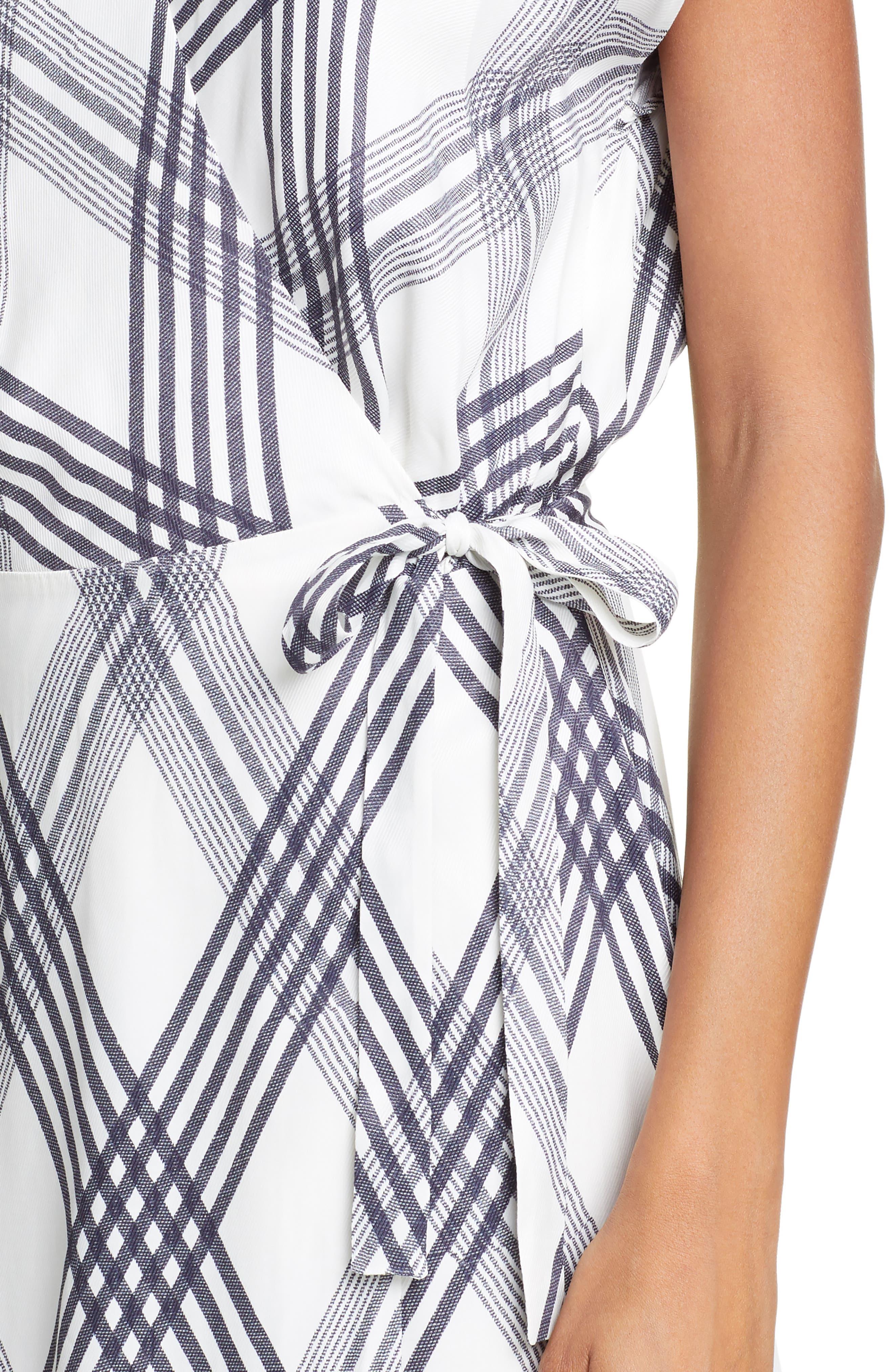 ,                             Bethwyn B Wrap Dress,                             Alternate thumbnail 5, color,                             900