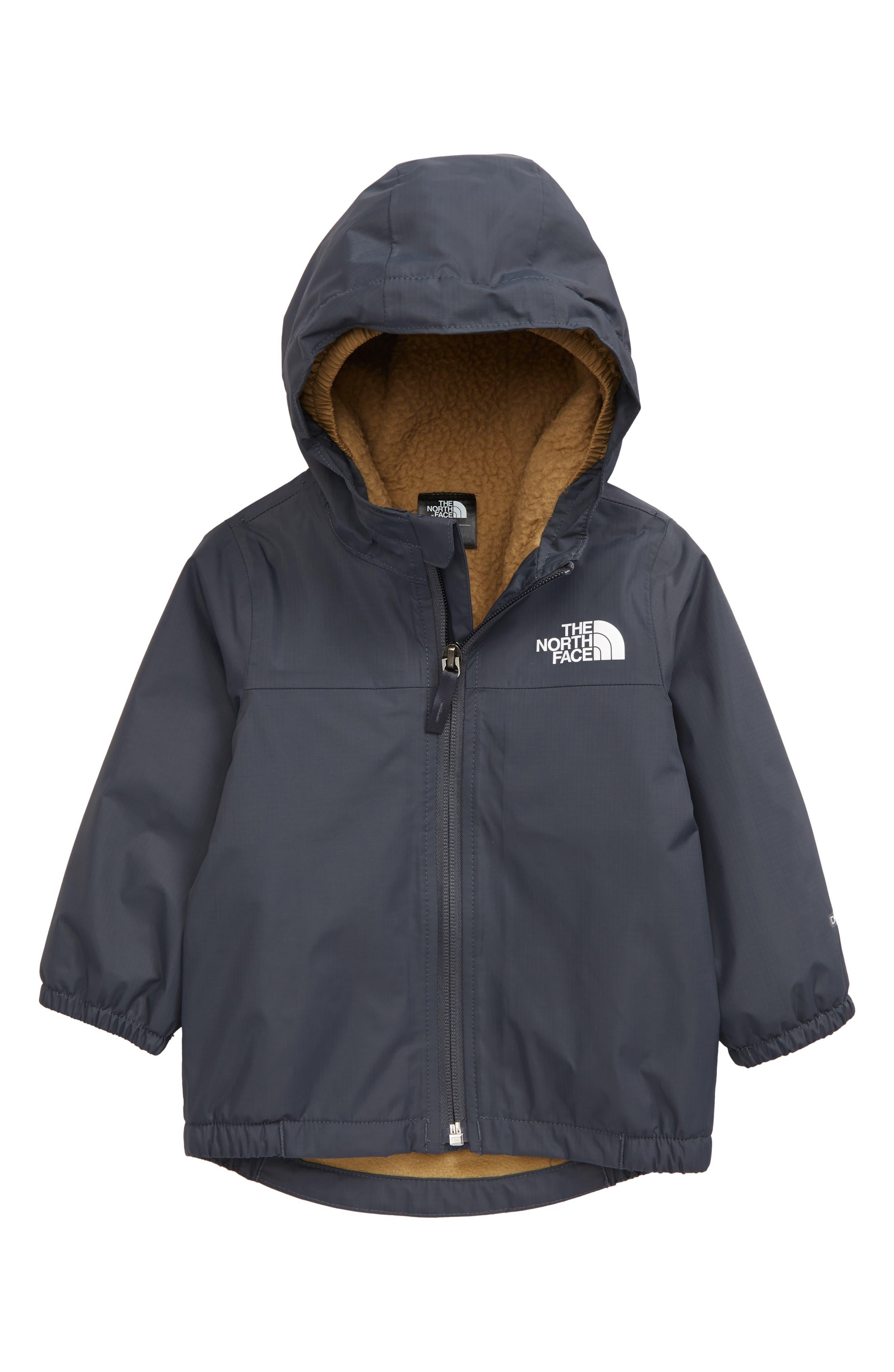The North Face Infant Warm Storm Rain Jacket - 6-12M - Vanadis Grey