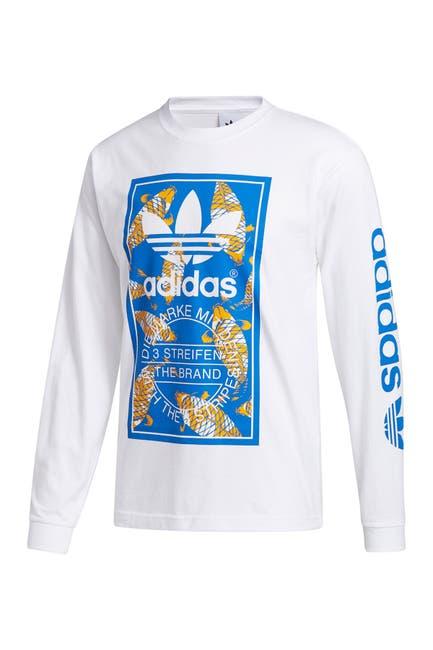 Image of adidas Koi Tongue Lable Long Sleeve T-Shirt