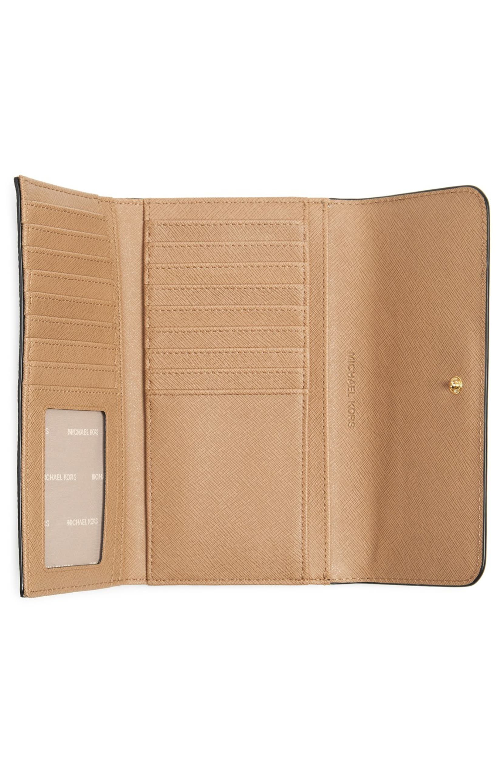 a3193991e476 MICHAEL Michael Kors Mercer Large Trifold Leather Wallet | Nordstrom