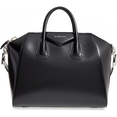 Givenchy Medium Antigona Box Leather Satchel -