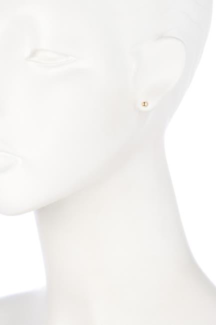 Image of Candela 14K Yellow Gold Stud Earrings
