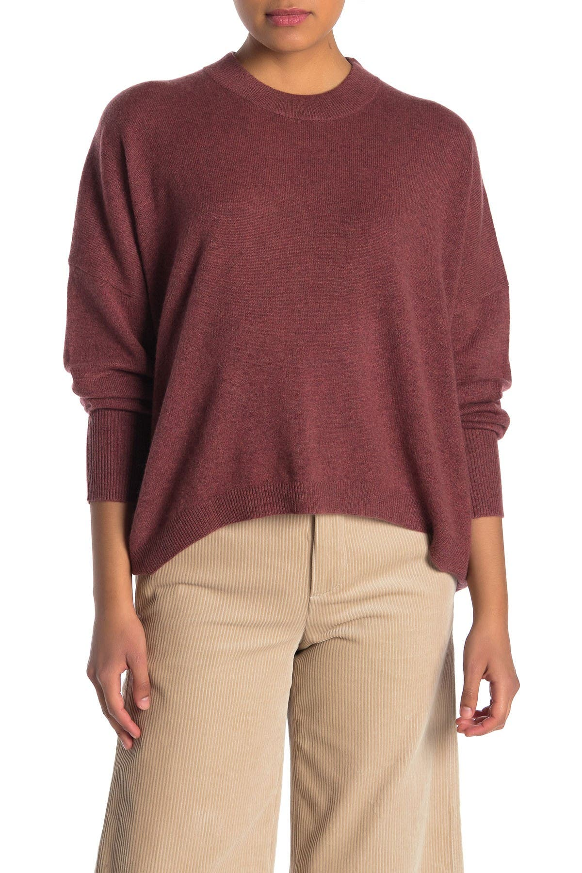 Image of 360 Cashmere Makayla High/Low Cashmere Sweater