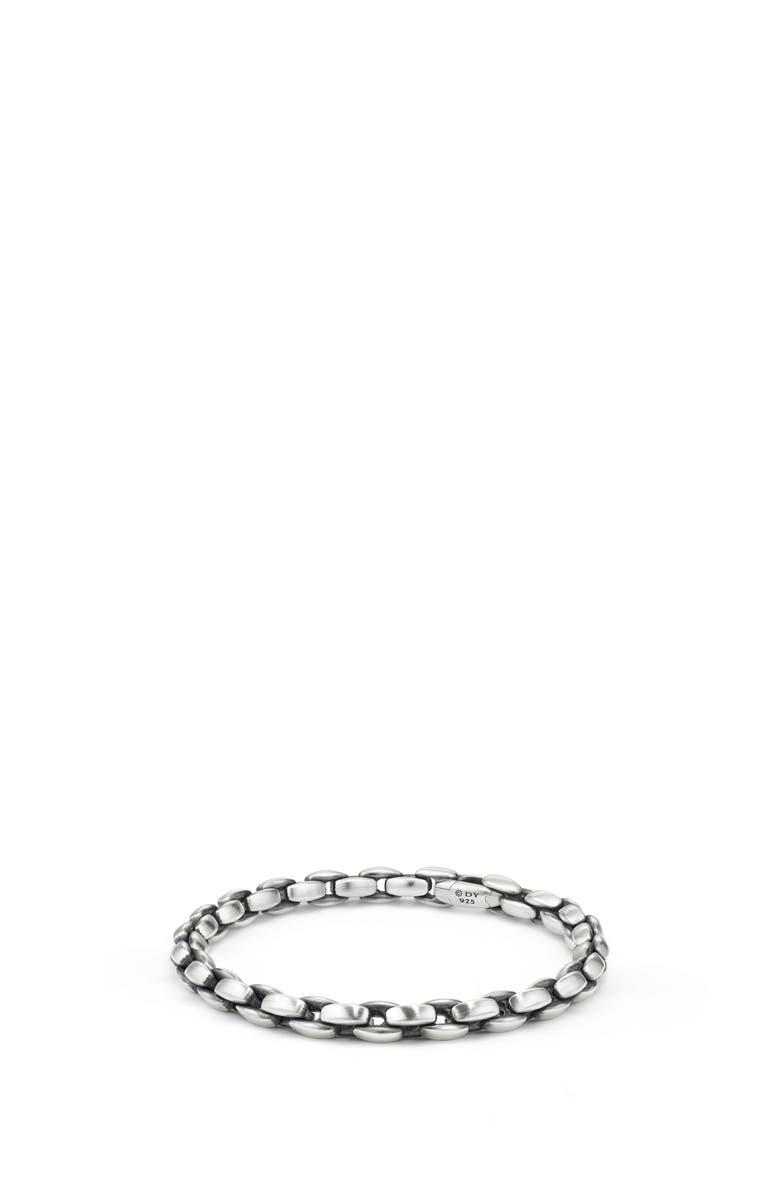 DAVID YURMAN Elongated Box Chain Bracelet, 6mm, Main, color, 040