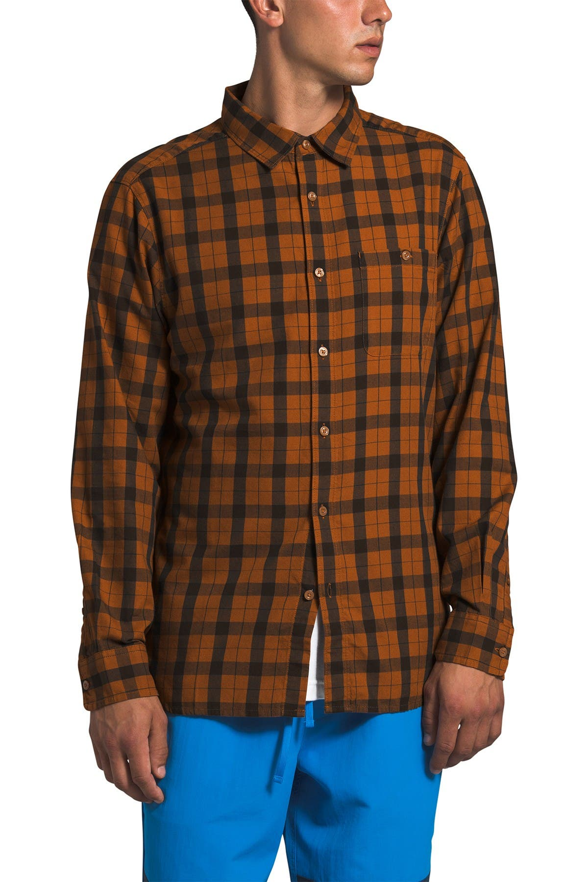 Image of The North Face Hayden 2.0 Check Long Sleeve Regular Shirt