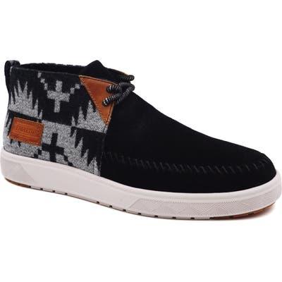 Pendleton La Brea Mid Sneaker, Black