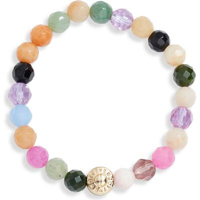Knotty Tessa Gemstone Beaded Bracelet