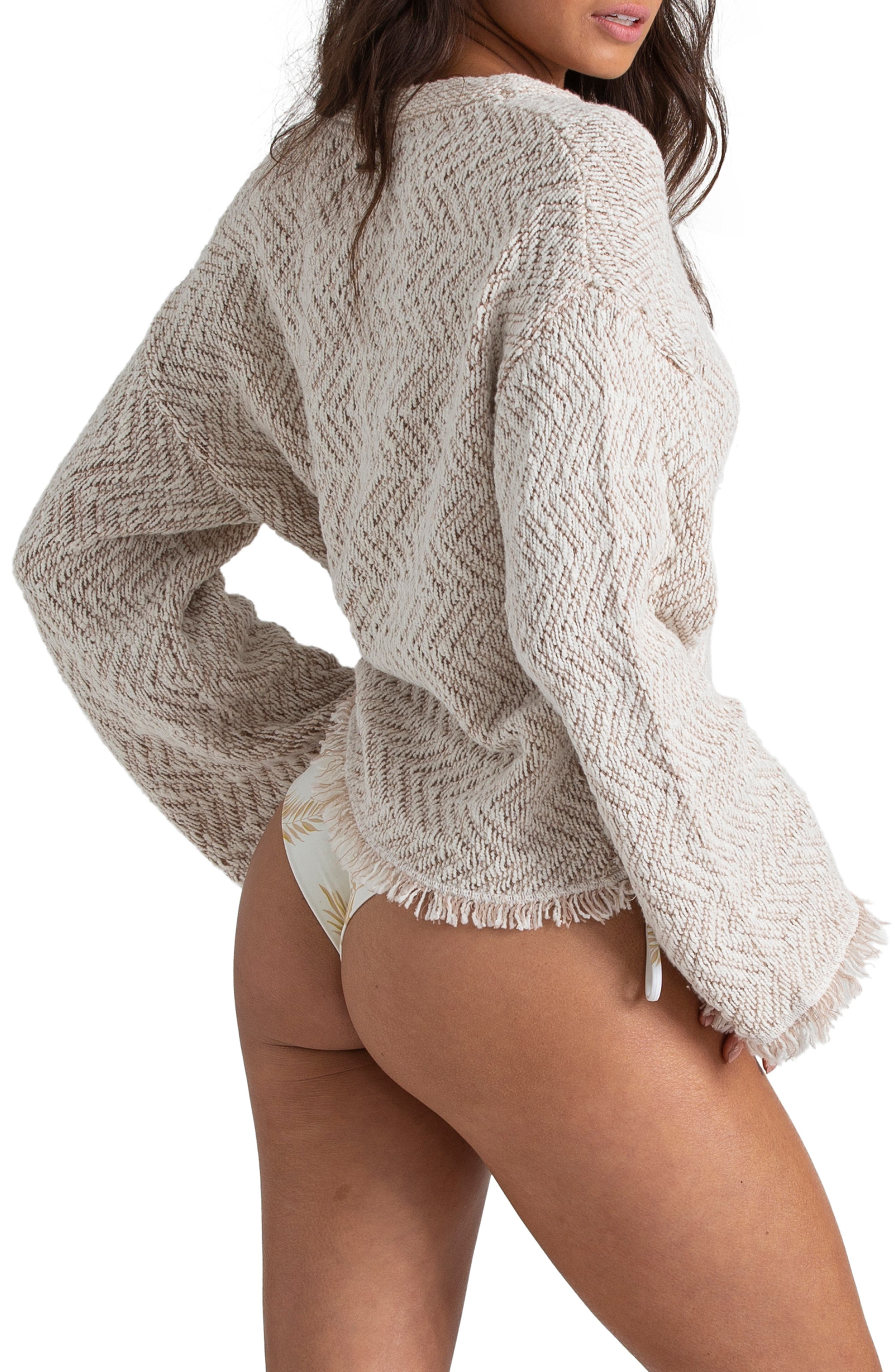 ,                             x Sincerely Jules Palm for Days Sweater,                             Alternate thumbnail 3, color,                             WHITE CAP