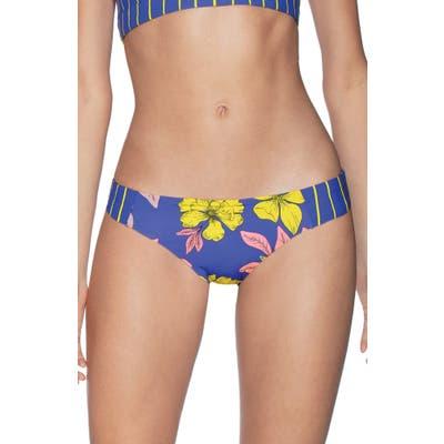 Maaji Maris Tabby Reversible Bikini Bottoms, Blue