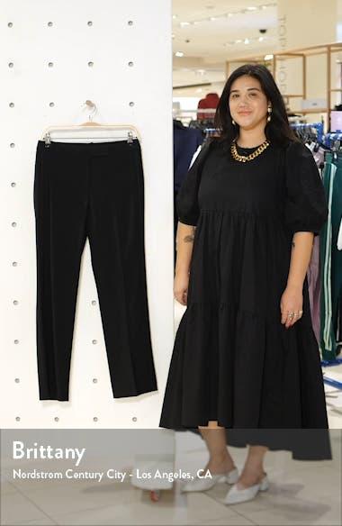 Prato Topstitch Detail Stretch Wool Trousers, sales video thumbnail