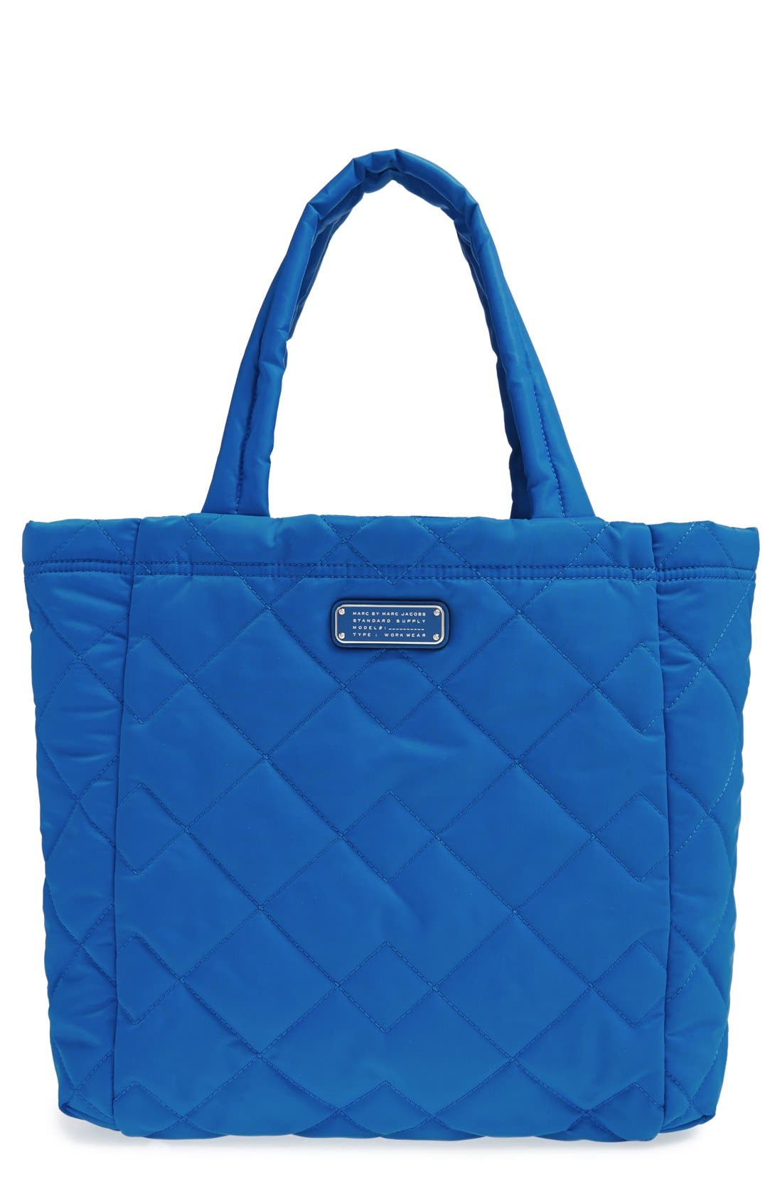 ,                             MARC BY MARC JACOBS 'Crosby' Quilted Nylon Tote,                             Main thumbnail 9, color,                             481