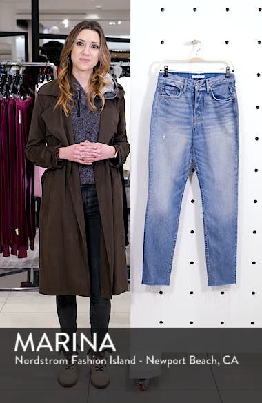 Karolina Patched High Waist Skinny Jeans, sales video thumbnail