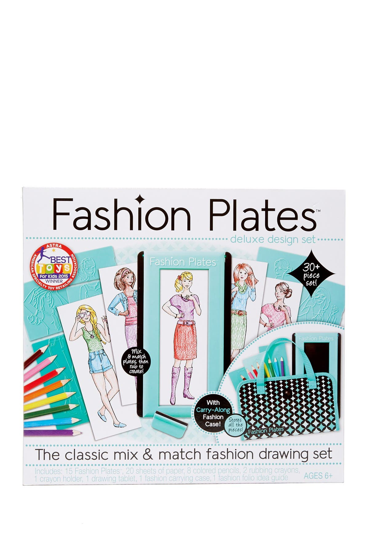 Image of Spirograph Fashion Plates Deluxe Set