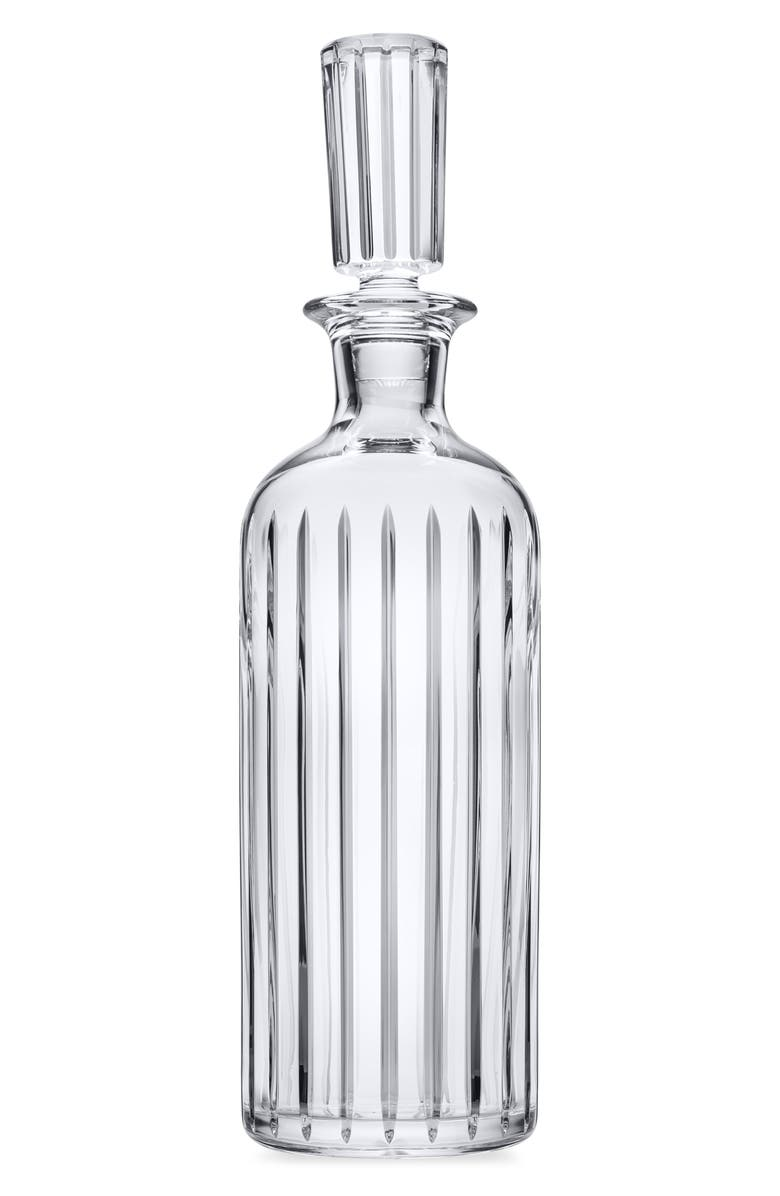 BACCARAT Harmonie Round Lead Crystal Decanter, Main, color, CLEAR