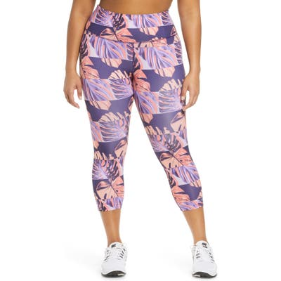 Plus Size Nike Crop Running Tights