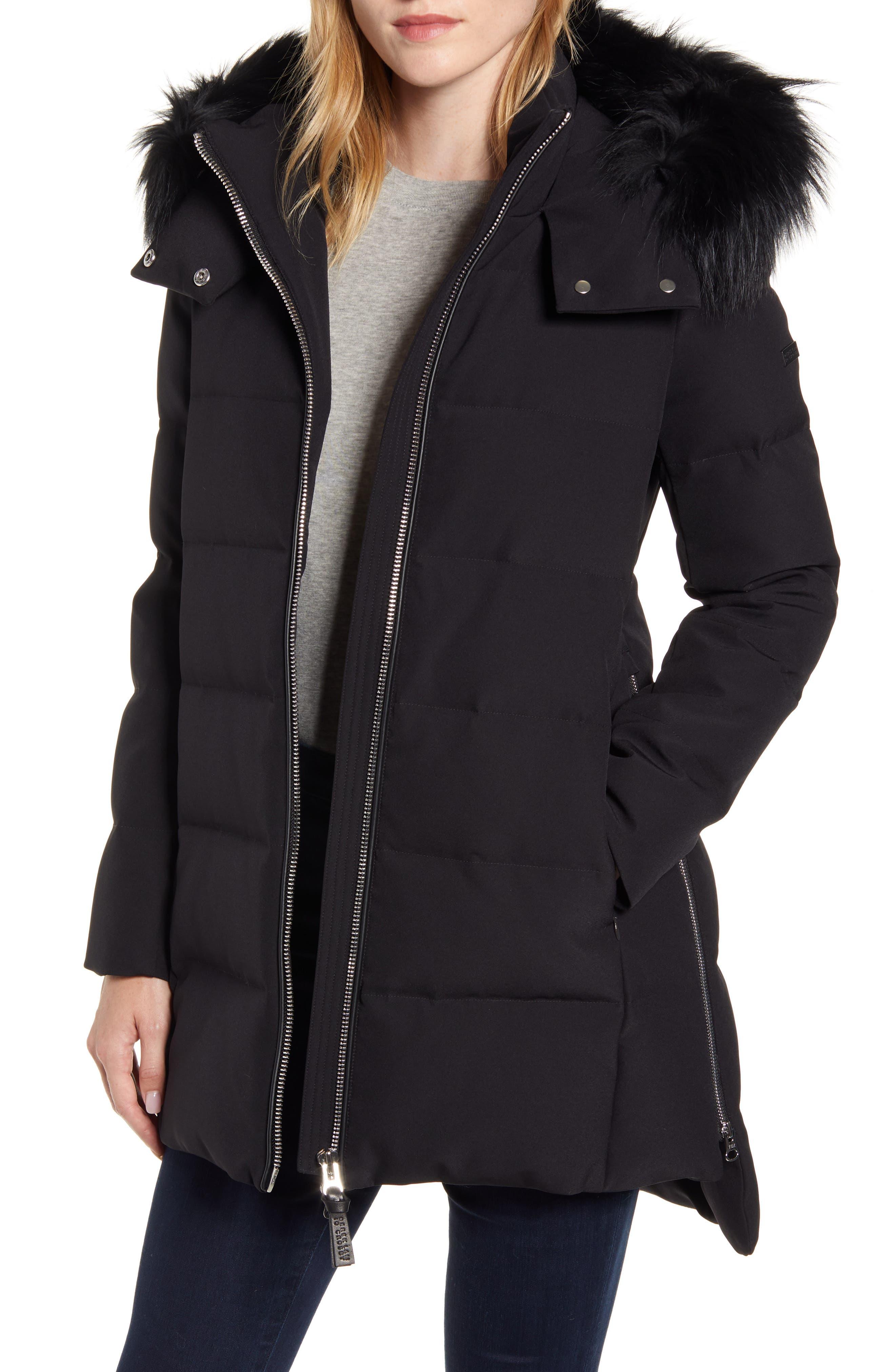 *NEW* Derek Lam 10 Crosby Ladies/' Down Hooded Jacket