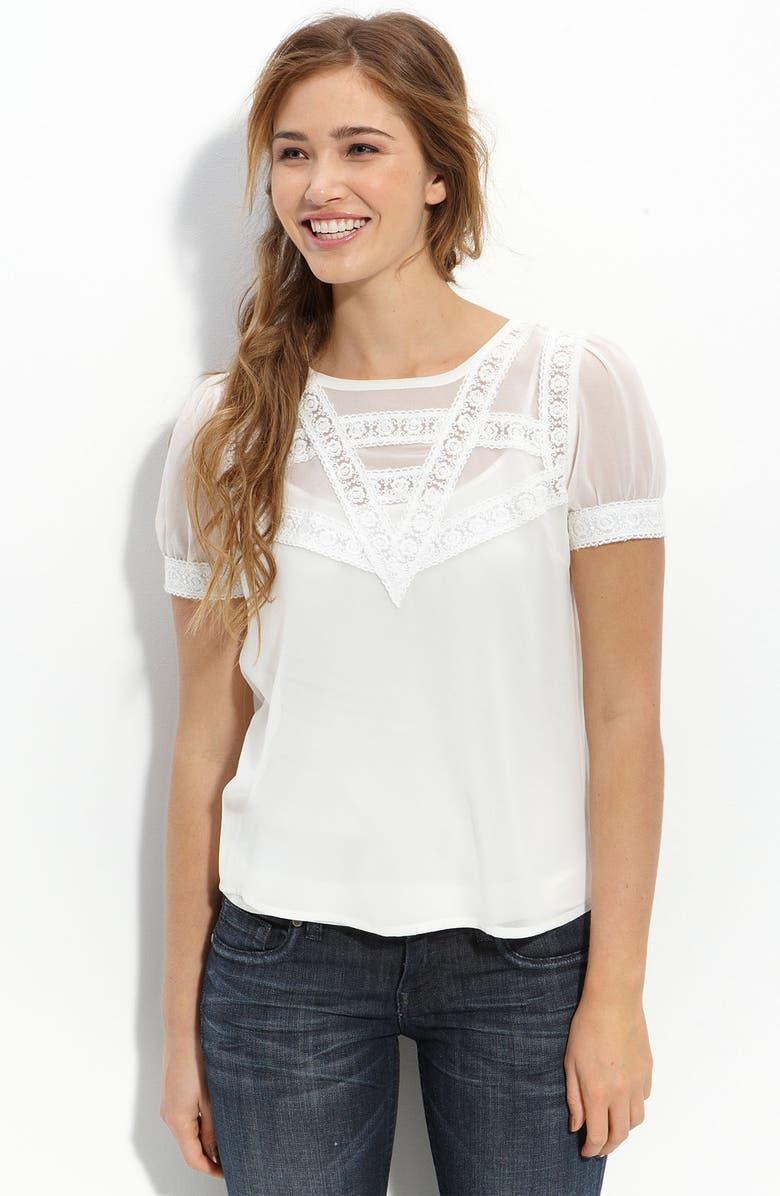 --- Lace Inset Top, Main, color, 101
