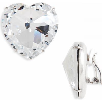 Tory Burch Heart Clip-On Earrings