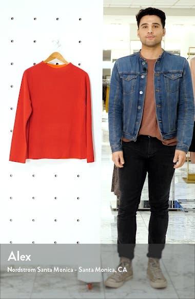 Reversible Silk Blend Sweater, sales video thumbnail