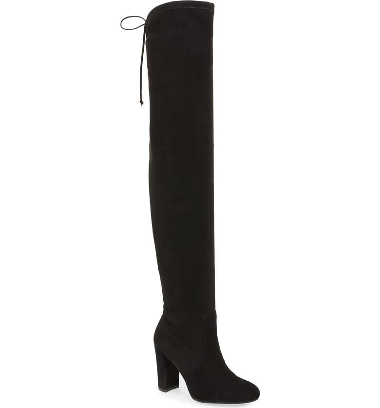 DUNE LONDON Sibyl Over the Knee Boot, Main, color, 003