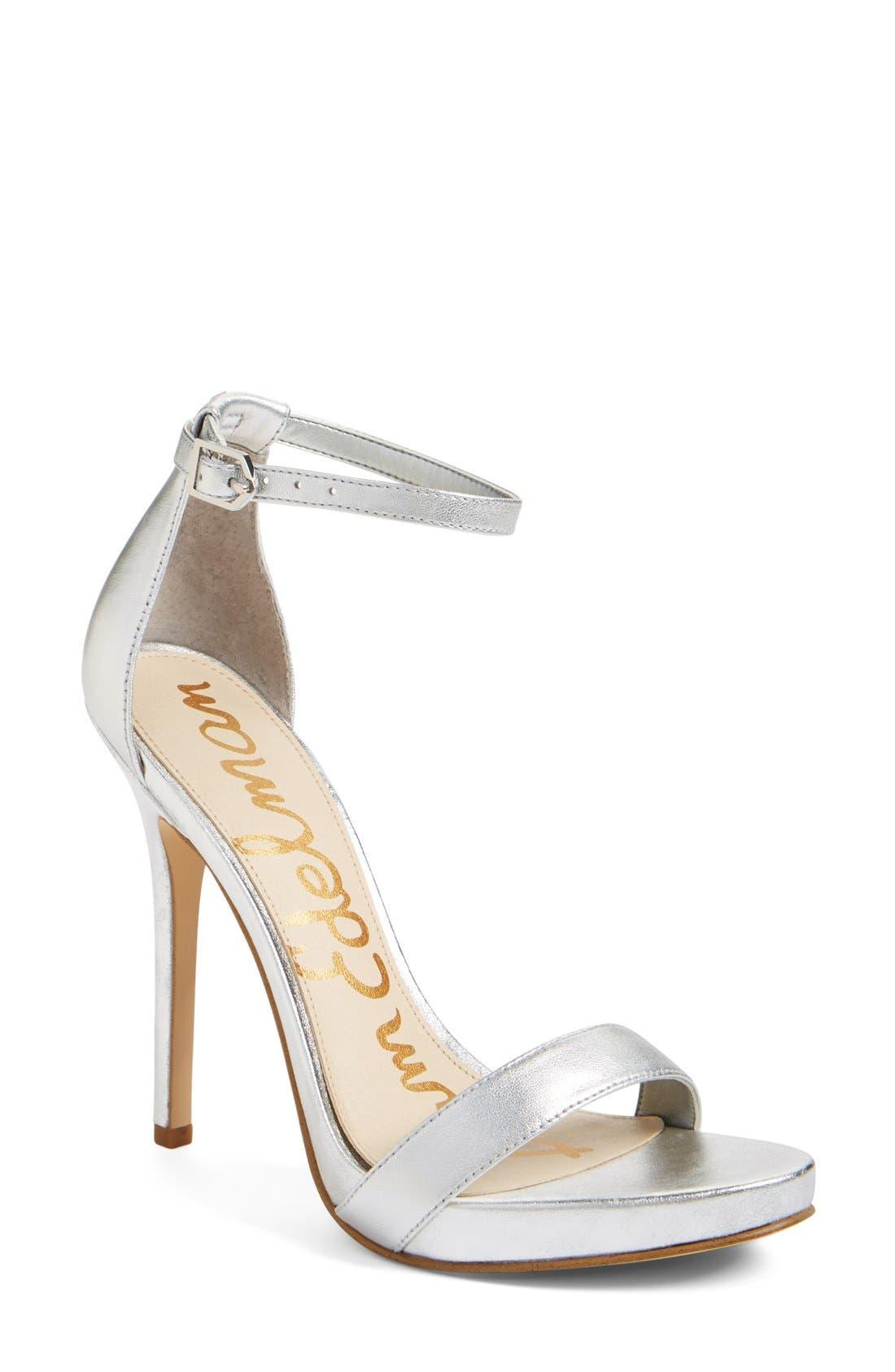 ,                             'Eleanor' Ankle Strap Sandal,                             Main thumbnail 73, color,                             042
