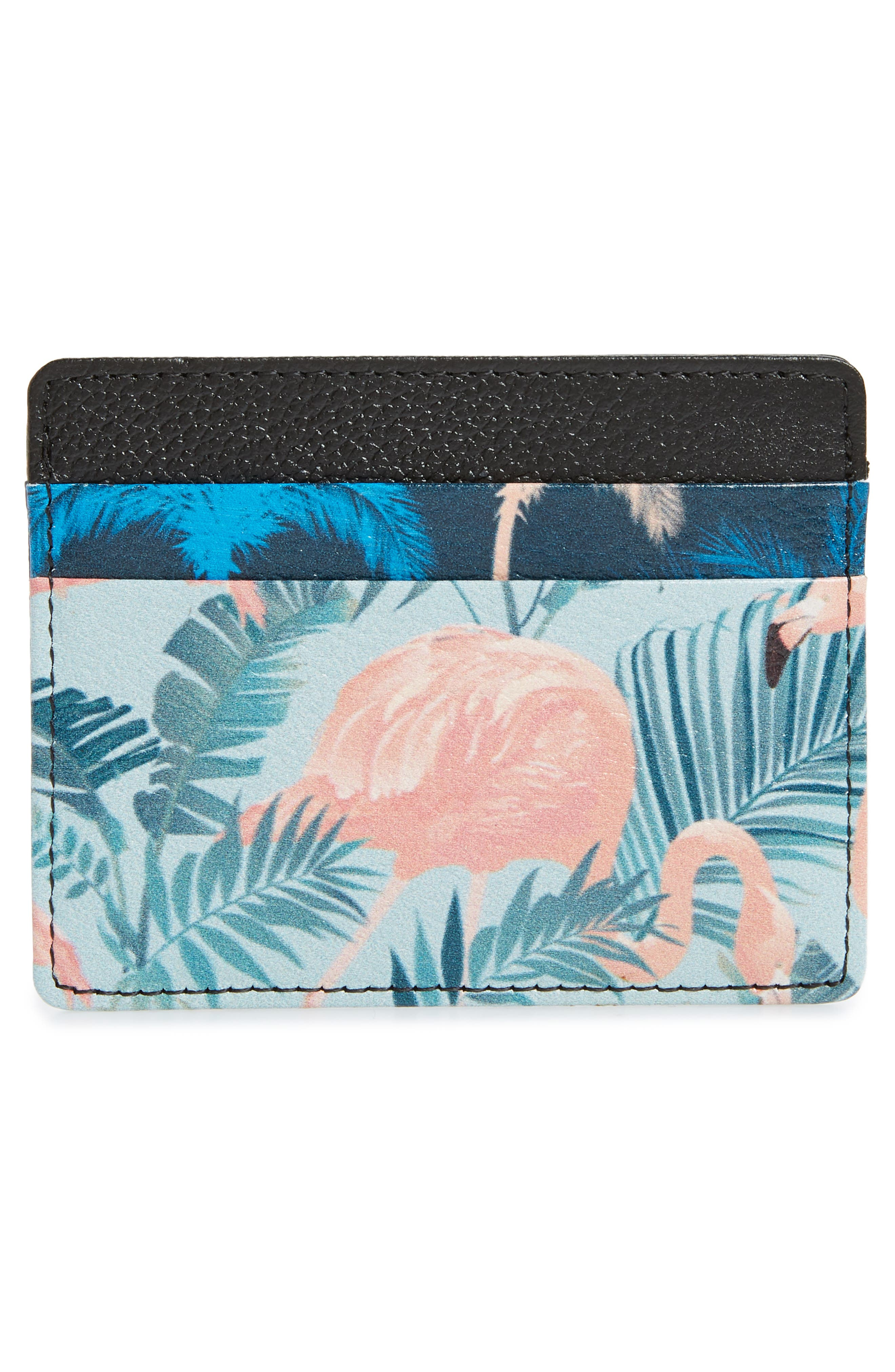 ,                             Jamie Leather Card Case,                             Alternate thumbnail 48, color,                             447
