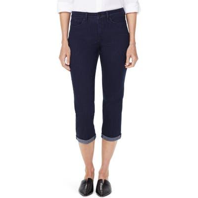 Nydj Chloe Capri Jeans, Blue