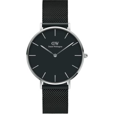 Daniel Wellington Petite Ashfield Mesh Strap Watch,