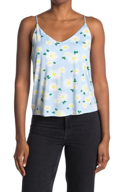 Image of Abound Double V Printed Cami