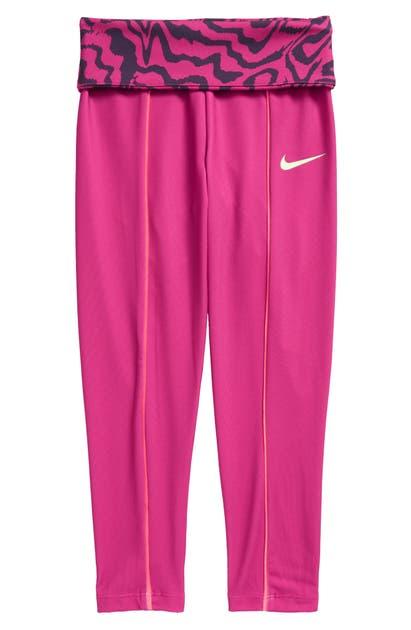 Nike Pants KIDS' ELECTRIC ZEBRA LEGGINGS (TODDLER & LITTLE GIRL)