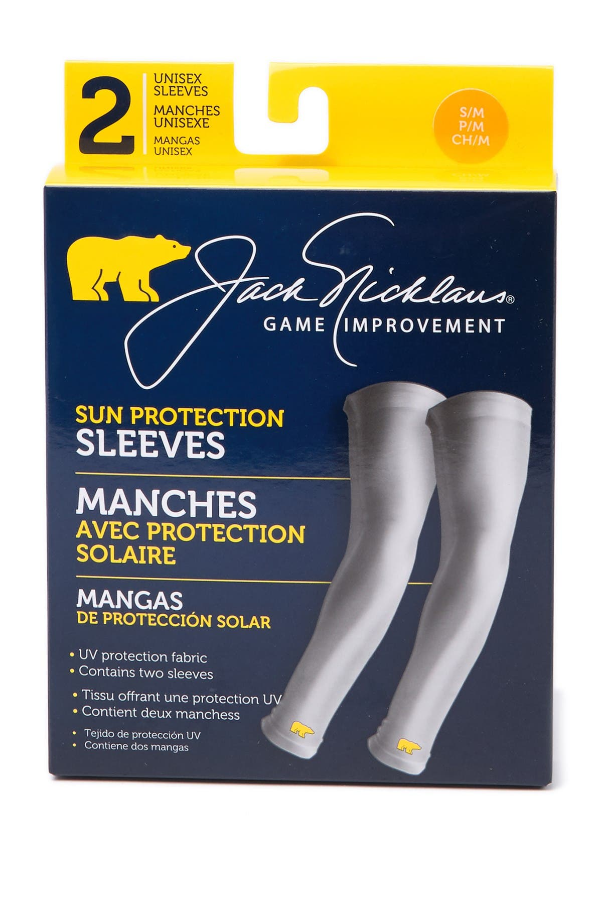 Image of Jack Nicklaus Golf Solar Sun Protection Sleeves