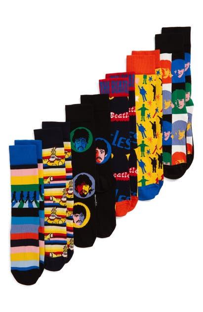 Happy Socks Socks THE BEATLES ENCORE EDITION 6-PACK SOCK GIFT SET